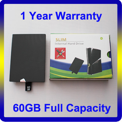 For XBOX Hard Drive 360 Slim Console 60G HDD Full Capacity 120G 250G 320G 500G