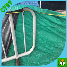 latest truck covers PE tarpaulin/garden cheap waterproof tarpaulin/cargo protective fire resist membrane