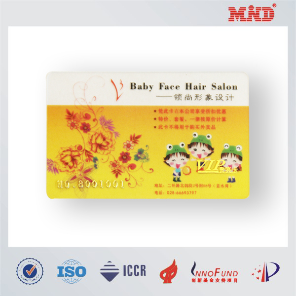 MDC1386 RFID card with ID/IC chip PVC card cute card 1k 2k china manufacturer