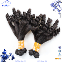 Best price 6A grade 1B color Brizilian Virgin aunty funmy hair