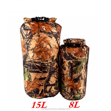 Camouflage Multifunction Waterproof Bags For Travel Rafting Drifting Kayaking Swimming Camping Pouch
