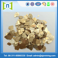 100 mesh white versatility mica /gold mica / high quality and low price(whiteness:58-63 degree)