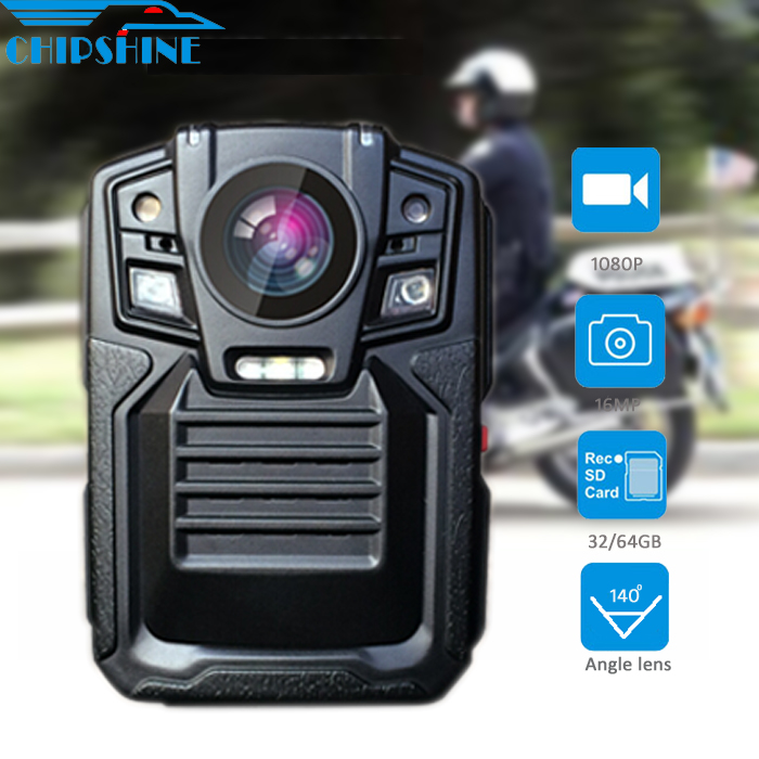 New hidden 2.5m Drop Resistance waterproof police body camera with Manager software