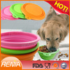 RENJIA pet container,silicone pet feeding bowl,pet containers for food