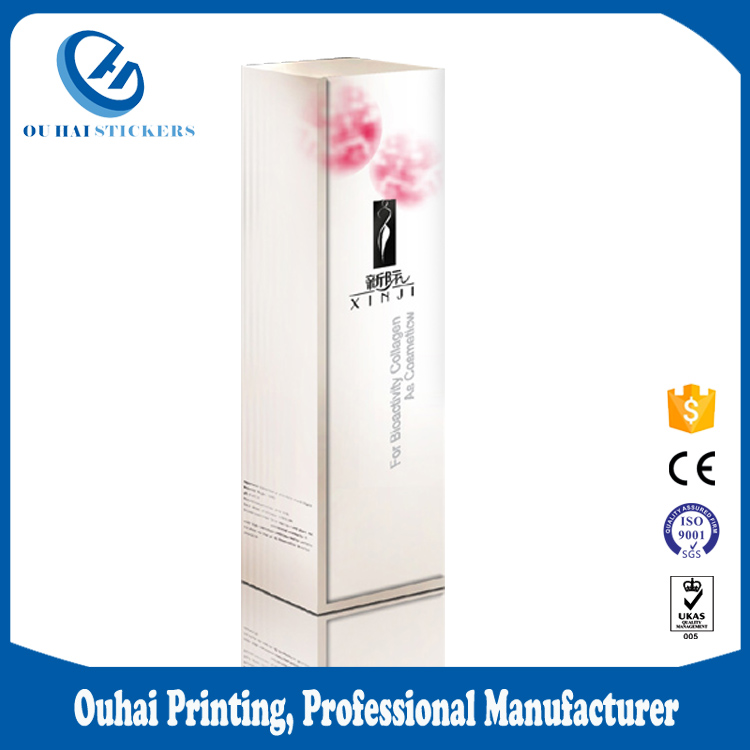New arrival product cosmetic packaging box uk products made in china