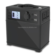 400Wh lithium ion battery 300W portable rechargeable generator