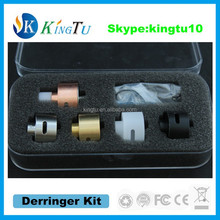 short rda unique design derringer rda kit with 5 rings in the gift box kingtu new item