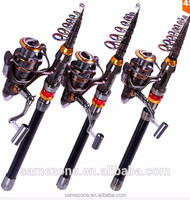 Portable Telescope Fishing Rod and Reel Combo Adjustable Fishing Rod Set