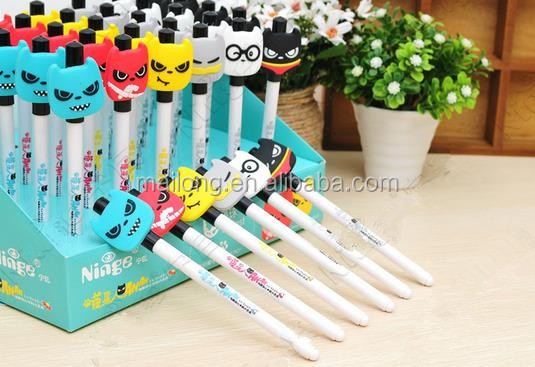 South Korea stationery specials NJ - 028-13 meow star tower pen/pen/pen 36 pens PN3380