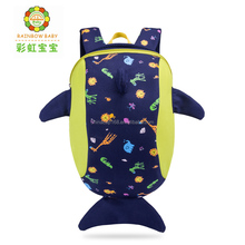 Professional manufacturer custom personalized cartoon shark shape school backpack
