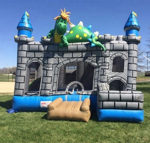 Hot sell design Dragon inflatable bouncer castle, inflatable jumping castle for girls, inflatable bouncers for toddlers