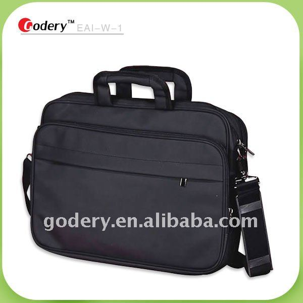Longlasting 600D polyester laptop briefcase