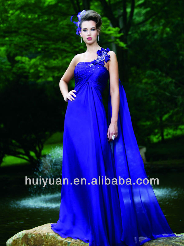 Chiffon Asymmetrically Neckline Young Mother Of The Bride Dresses