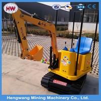 Hengwang Amusement Kid Game Excavator For Sale / Children Excavator / Kids Electric Toys Excavator for sale