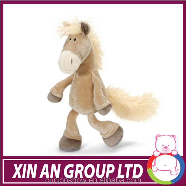 Fashion design cute stuffed animal plush horse