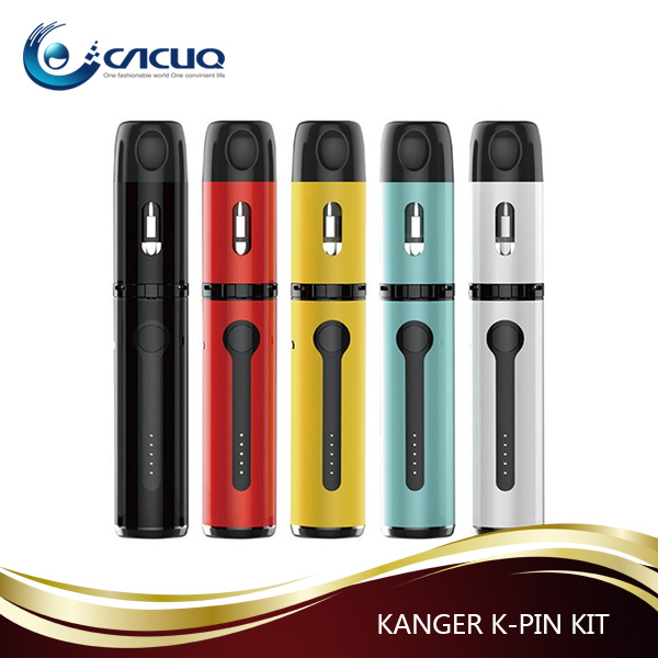 CACUQ AKD series new release electronic cigarette K-pin with plastic glass 100% leak free vape enjoy huge clouds