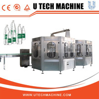 Washing/ Filling and Sealing 3 in 1 Monoblock Drink Water Filling Machine for Pet Bottle
