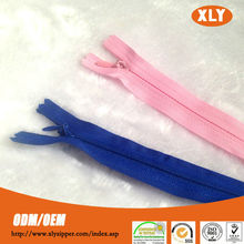 High Quality invisible zipper,nylon invisible zip,long chain invisible zips wholesale