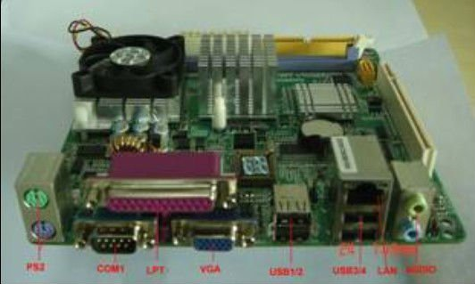 CLE266 Chipset motherboard with Intel C3 Processor (PCM5-CLE266)