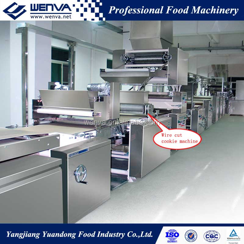 Automatic center filled biscuit making machine