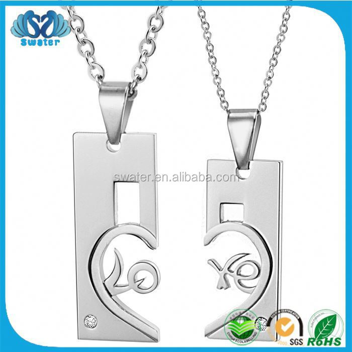Alibaba Express Stainless Steel Pendant Necklace Bridal Jewelry