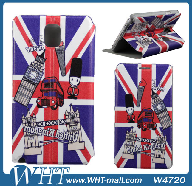 Hot Fashion!!! For Galaxy Note 3 UK Case. Flag of the United Kingdom Case For Samsung Galaxy Note 3 N9000 Wholsale