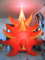 giant inflatable dragon fruit for event decoration