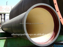ISO2531or EN545 ductile iron pipe k9/k7/c25/c30/c40