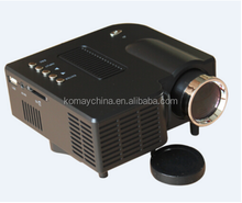 KOMAY High Quality Low Cost Factory UC28B 500 Lumens LCD Projector support read the U disk, mobile hard disk, TF card