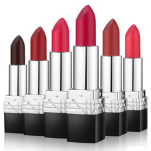 Wholesale Private Label 6 Colors Long-Lasting Waterproof Moisturizing matter Lipstick