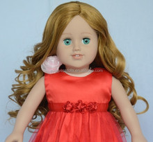 curly 18 inch cheap doll wig wholesale