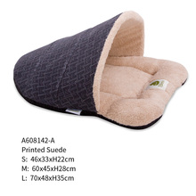 Factory wholesale hot-sale slipper shaped pet bed