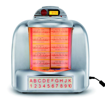 Montado en la pared cocina jukebox FM, USB/sd, Bluetooth funcitons