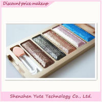 Colorful wholesale Makeup palette popular shine and cosmetic naked eye shadow