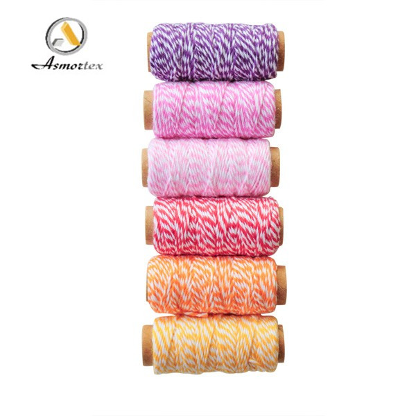 High quality cotton rope bakers twine 1cm-2cm