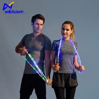 led fun lighted skipping rope Durable Plastic handle