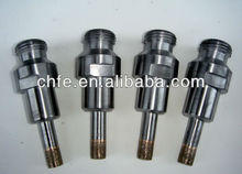 diamond core drill bit for coring glass
