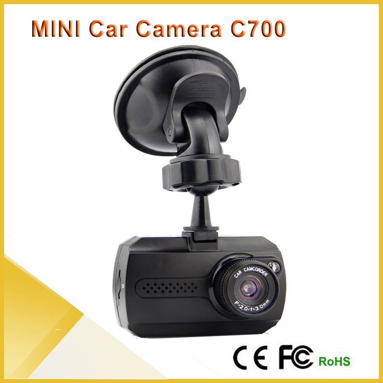 2015 new products car dash camera C700 inside car camera mini HD 1080P hd dash cam