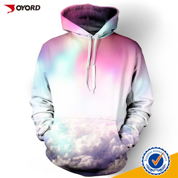 guangzhou manufacturer man/women wholesale sublimation hoodies/sweatshirts with your design