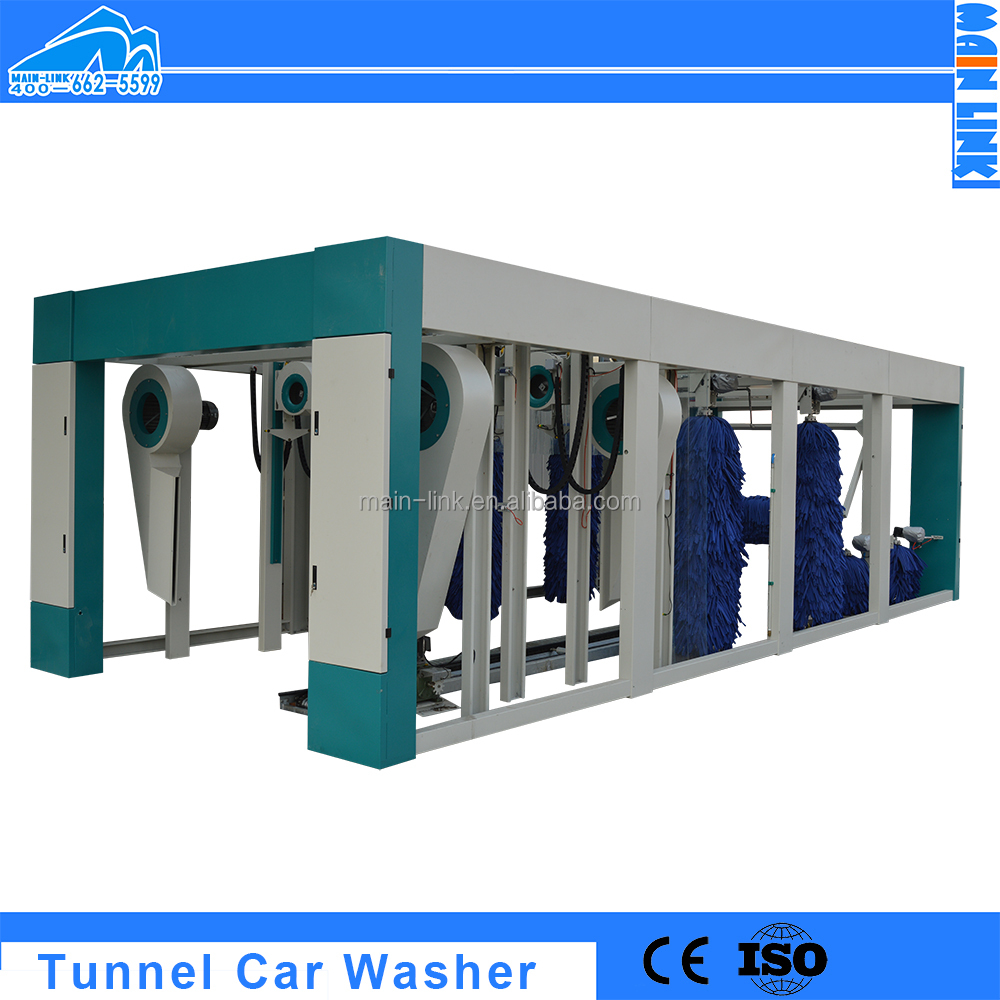 Automatic Tunnel Car Wash Equipment Prices