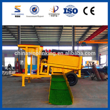 SINOLINKING Effcient Clean Out Alluvial Gold Tailing Mining Machine