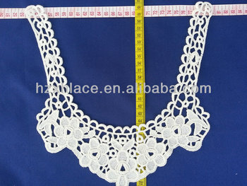 Unique design for embroidered neck lace for clothing