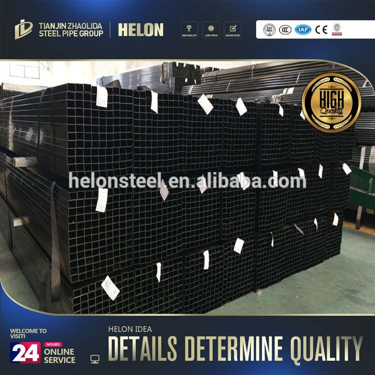 q195 12mm black tubes square steel pipe crude oil pipe