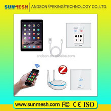 SUNMESH wireless lighting control system, smart home solution/home domotica
