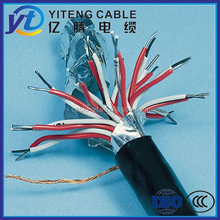 flex multi core shielded cable thin copper wire 0.75,1.0,1.5 2.5,4,6,10mm2 xlpe/pvc insulated control cable