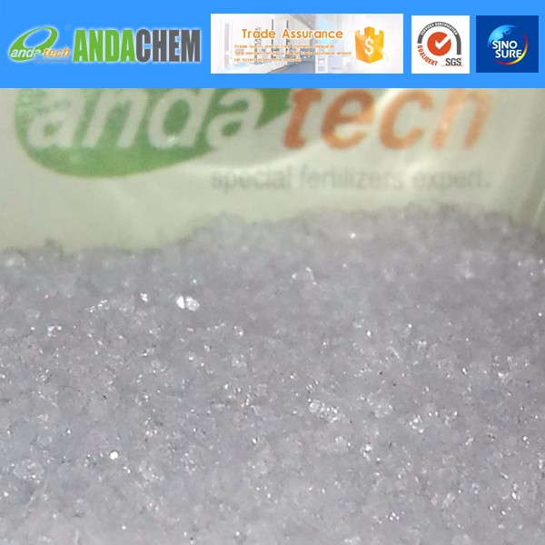 99.0% Monopotassium Phosphate MKP high purity crystal type greenhouse fertilizer Tech grade