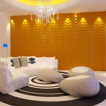 Beautiful bamboo material decorative 3d wall murals wallpaper for home