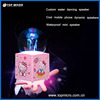 Custom Portable Waterproof Mini Cool Mobile Phone Dynamic Music Speaker