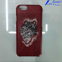 custom leather cell phone case made in china