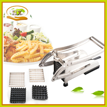 Hot Selling Custom Logo Imprinted High Quality Potato Chip Cutter,New Product Factroy Kitchen Tools Wholesale French Fry Cutter